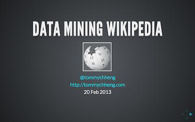 Data Mining Wikipedia