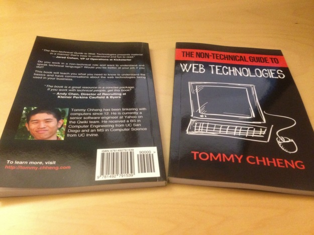 book cover for non-technical guide to web technologies